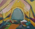 óleo sobre lienzo, 27x22cm